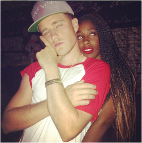 whats wrong with a white guy dating a black girl